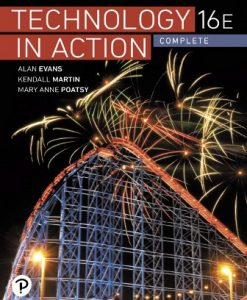 Solution Manual (Downloadable Files) for Technology In Action Complete 16th Edition Evans