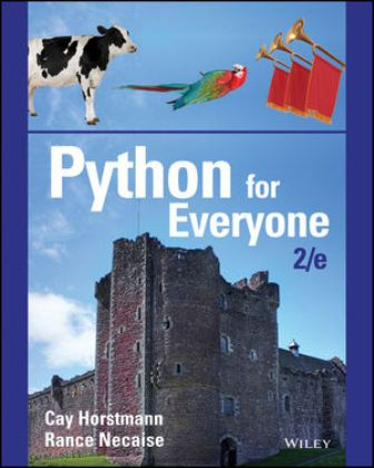 Solution Manual (Downloadable Files) for Python for Everyone 2nd Edition Horstmann