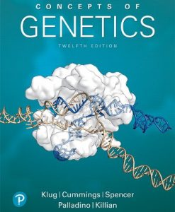 Test Bank for Concepts of Genetics 12th Edition Klug