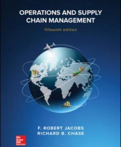Test Bank for Operations and Supply Chain Management 15th Edition Jacobs