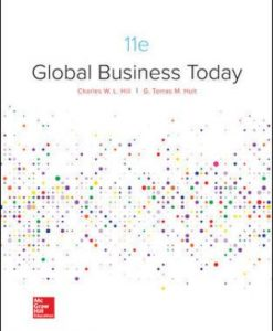 Solution Manual for Global Business Today 11th Edition Hill