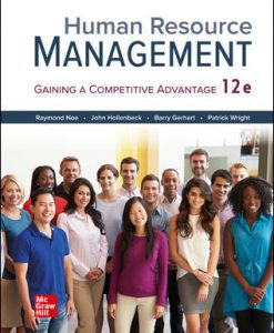 Test Bank for Human Resource Management 12th Edition Noe