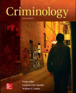 Solution Manual for Criminology 9th Edition Adler