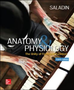 Solution Manual for Anatomy & Physiology: The Unity of Form and Function 8th Edition Saladin