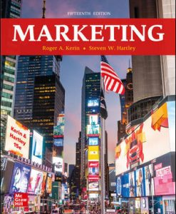 Solution Manual for Marketing 15th Edition Kerin