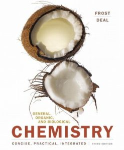 Test Bank for General Organic and Biological Chemistry 3rd Edition Fros