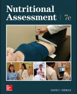 Test Bank for Nutritional Assessment 7th Edition Nieman