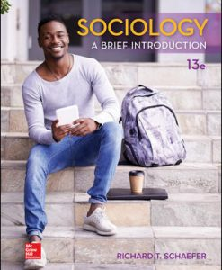 Solution Manual for Sociology: A Brief Introduction 13th Edition Schaefer