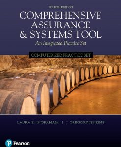 Solution Manual for Computerized Practice Set for Comprehensive Assurance & Systems Tool (CAST) 4th Edition Ingraham
