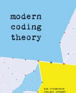 Solution Manual for Modern Coding Theory 1st Edition Richardson