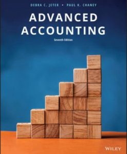 Test Bank for Advanced Accounting 7th Edition Jeter