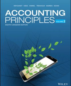 Solution Manual for Accounting Principles, Volume 2 8th Canadian Edition Weygandt