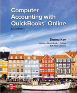 Solution Manual for Computer Accounting with QuickBooks Online 2nd Edition Kay