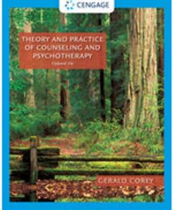 Test Bank for Theory and Practice of Counseling and Psychotherapy, Enhanced 10th Edition Corey