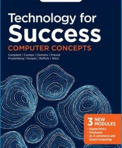 Solution Manual for Technology for Success: Computer Concepts 1st Edition Campbell