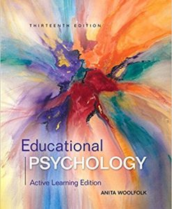 Test Bank for Educational Psychology Active Learning Edition 13th Edition Woolfolk