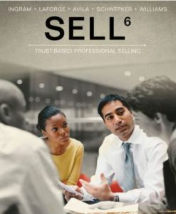 Test Bank for SELL 6th Edition Ingram