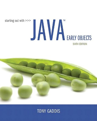 Solution Manual for Starting Out with Java: Early Objects 6th Edition Gaddis