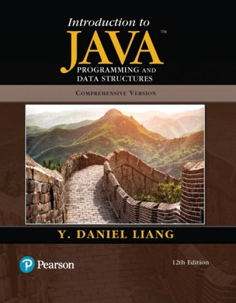 Solution Manual for Introduction to Java Programming and Data Structures Comprehensive Version 12th Edition Liang