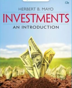 Test Bank for Investments: An Introduction 13th Edition Mayo