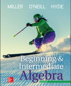 Solution Manual for Beginning and Intermediate Algebra 5th Edition Miller