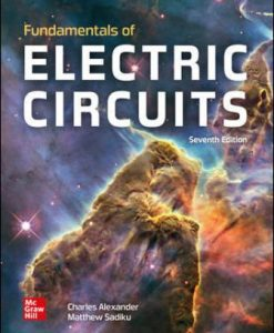 Solution Manual for Fundamentals of Electric Circuits 7th Edition Alexander