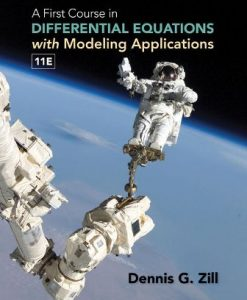 Test Bank for A First Course in Differential Equations with Modeling Applications 11th Edition Zill