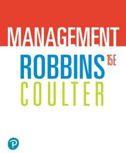 Test Bank for Management 15th Edition Robbins