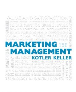 Solution Manual for Marketing Management 15th Edition Kotler