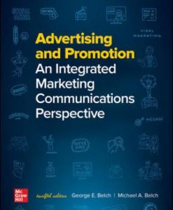 Test Bank for Advertising and Promotion: An Integrated Marketing Communications Perspective 12th Edition Belch