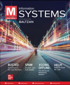 Test Bank for M: Information Systems 6th Edition Baltzan