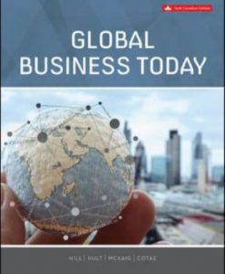 Solution Manual for Global Business Today 6th Edition Hill