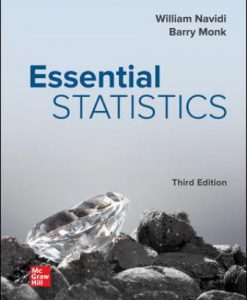 Solution Manual for Essential Statistics 3rd Edition Navidi