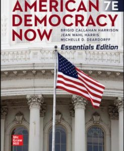 Test Bank for American Democracy Now, Essentials 7th Edition Harrison