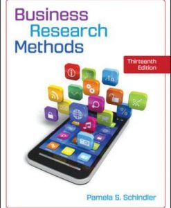 Solution Manual for Business Research Methods 13th Edition Schindler