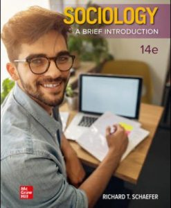 Solution Manual for Sociology: A Brief Introduction 14th Edition Schaefer