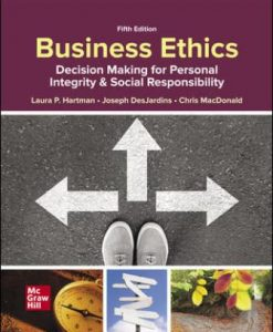 Solution Manual for Business Ethics 5th Edition Hartman