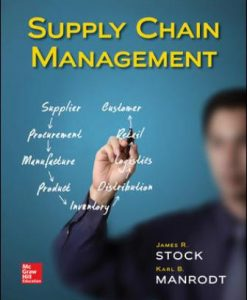 Test Bank for Supply Chain Management 1st Edition Stock