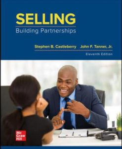 Solution Manual for Selling: Building Partnerships 11th Edition Castleberry