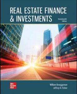 Test Bank for Real Estate Finance & Investments 17th Edition Brueggeman
