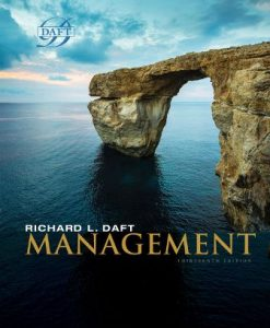 Test Bank for Management 13th Edition Daft