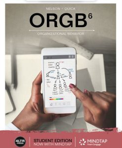 Test Bank for ORGB 6th Edition Nelson