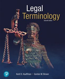 Test Bank for Legal Terminology 7th Edition Kauffman