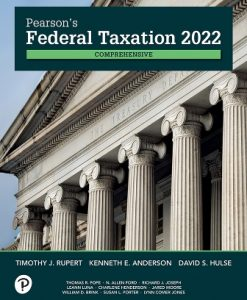 Test Bank for Pearson's Federal Taxation 2022 Comprehensive 35th Edition Rupert