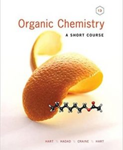 Test Bank for Organic Chemistry A Short Course 13th Edition Hart