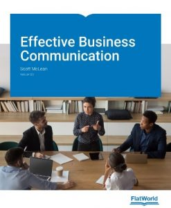 Test Bank for Effective Business Communication Version 3.0 McLean